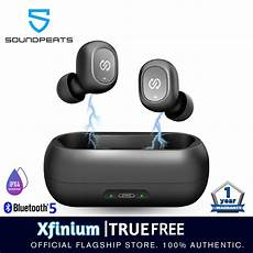 Soundpeats Truefree Wireless Stereo Bluetooth Earbuds by Soundpeats Truefree True Wireless Earbuds In Ear Stereo