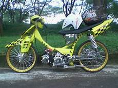 Modifikasi Smash 110 by Drag Modification Modif Drag Race Fcci Drag Suzuki