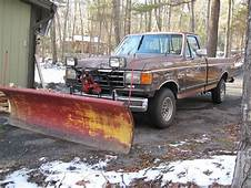 Sell New 1991 Ford F 150 XLT 4x4 V8 With Plow/need Work