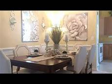 dining room decorating ideas glam tour youtube