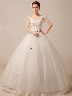 cap sleeves princess ball gown wedding dress debutante dress jojo shop