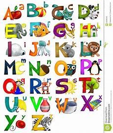 alphabet stock illustration illustration of nursery