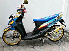 Modifikasi Motor Mio Sporty Simple by Modifikasi Motor Mio Sporty