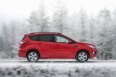 new ford kuga growls in arctic snow eurekar