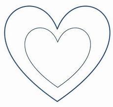 Vorlagen Herzen Malvorlagen Lesezeichen Ausdrucken Herz Lesezeichen Herzschablone