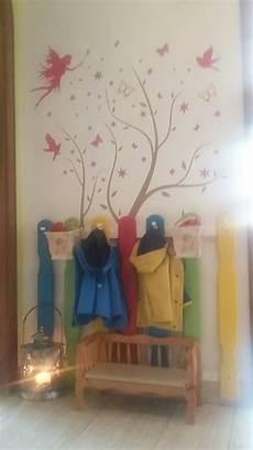 kindergarderobe zaun gartenzaun garderobe diy projekte