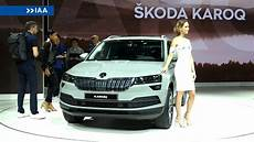 2018 Skoda Karoq At The Frankfurt Motor Show