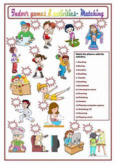 outdoor sports worksheets 15859 indoor activities worksheet free esl printable worksheets made by teachers
