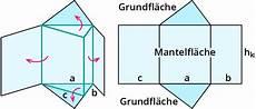 berechnen der oberfl 228 che eines prismas kapiert de
