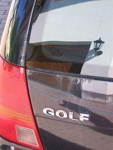 01 rost an der heckklappe vw golf 4 203000948