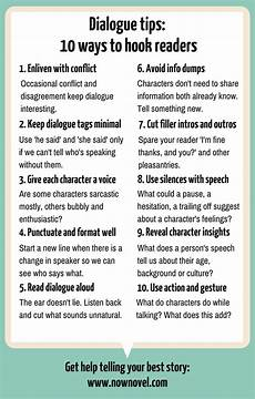 Story Tips For Non Cheesy Ideas 10 dialogue tips to hook readers creative writing
