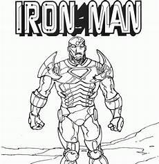 ironman malvorlagen