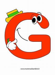 lettere alfabeto colorate da stare immagini della lettera g alfabetiere da stare e colorare