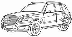 Malvorlagen Lkw Mercedes Mercedes Glk Coloring Page Mercedes Car Coloring Pages