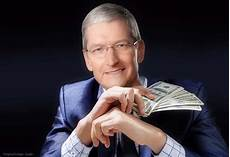 tim cook gives almost 5 million of apple shares to