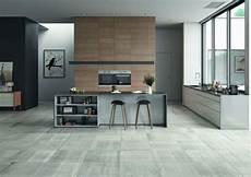 carrelage mur cuisine moderne sol cuisine acpect beton type parquet bois poterie