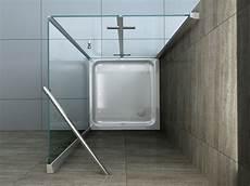 Helto 90 X 75 Cm Glas Dusche Duschkabine Duschwand