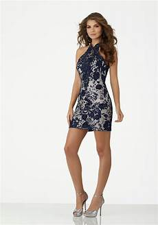 form fitting clothes form fitting three dimensional lace party with beading net and keyhole back style