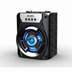 wholesale led outdoor subwoofer portable bluetooth speaker