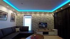 wohnzimmer deckenle led steinwand beleuchten und decke abh 228 ngen tipps und tricks
