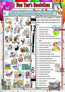 new year esl worksheets 19324 new year s resolutions worksheet free esl printable worksheets made by teachers