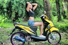 Modifikasi Megapro Primus Herex by Foto Model Cantik Motor Modifikasi Track