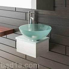 Mini Gäste Wc - alpenberger waschbecken waschtisch f 252 r g 228 ste wc glas