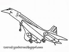 Mewarnai Gambar Pesawat Tempur Mewarnai Gambar