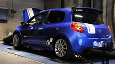 clio rs 197 project dyno run ace motorsport