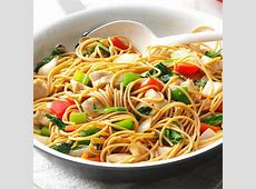 asparagus tofu noodle stir fry_image