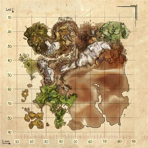Ark Spawn Map Ragnarok