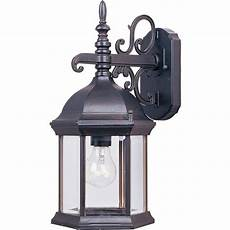 lighting builder cast 1 light empire bronze outdoor wall 1071cleb the home depot