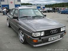 Audi 80 Quattro B2 Lowered Audi Wheels