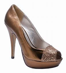 Bronze Wedding Shoes Heels