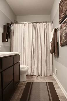 Grey Shower Curtain Ideas the yellow cape cod boy s bathroom reveal using two