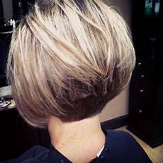 concave bob back view of stacked bob haircut trendy 21 hottest stacked bob hairstyles hairstyles weekly
