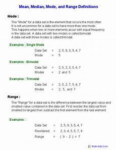 mean mode median worksheets mean mode median and range worksheets