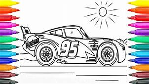 34 Mcqueen Cars Coloring Pages Lightning