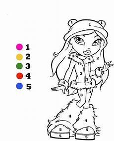 Ausmalbilder Zahlen Und Farben Ausmalbild Zahlen Mit Farben Ausmalbilder Malbilder Zum