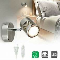 track lighting led fixture wall plug in adjustable picture spot light new 730669636356 ebay