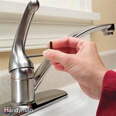 single handle kitchen faucet repair how to repair a single handle kitchen faucet