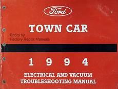 free car repair manuals 1994 lincoln town car auto manual 1994 lincoln town car electrical vacuum and troubleshooting manual original evtm factory