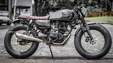 W175 Modif by Modifikasi Kawasaki W175 Jadi Scrambler Dan Cafe Racer