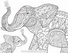 baby animal coloring pages for adults 17290 free printable elephant and baby coloring page it in pdf format at http