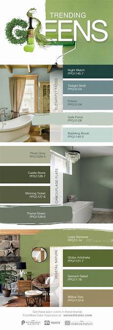 trending green paint colors for 2017 the natural world is once again becoming a dominant