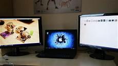 Bildschirm E An Einen Laptop Anschlie 223 En Windows10