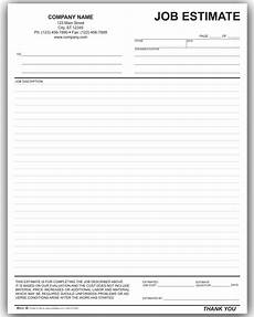 free contractor estimate forms business mentor free contractor estimate forms business mentor
