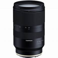 tamron 28 75mm f 2 8 di iii rxd lens for sony e announced sony rumors