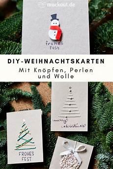 diy idee weihnachtskarten selbst gestalten