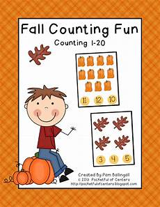 multiplication worksheets with pictures 4661 fall counting counting 1 20 great math station 1 50 fall preschool activities